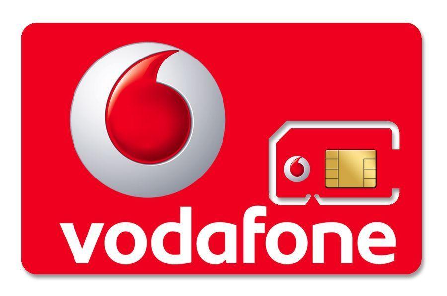 Английские  Сим карты Vodafone